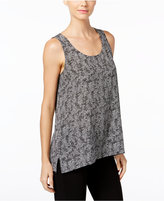 Eileen Fisher Silk Printed Shell, A Macy's Exclusive