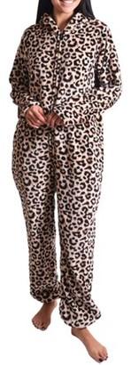 Body Candy Women's Leopard Print Union Suit