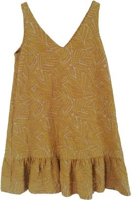 Sezane Spring Summer 2020 Yellow Cotton Dresses