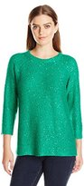 Anne Klein Women's Sequin Sweater