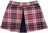 Andy & Evan Plaid Skirt (Toddler/Kid) - Pink-5