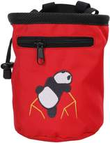 Simplicity AMC Rock Climbing Chalk Bag with Belt, Red