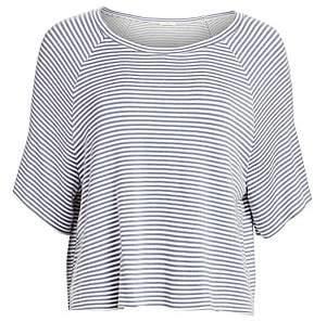 Eberjey Women's Sadie Striped Dolman-Sleeve Top