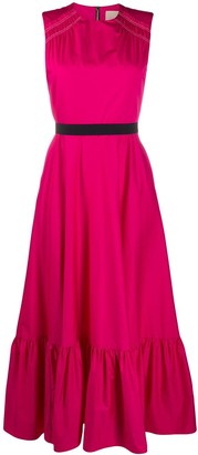 Roksanda Sleeveless Flared Midi Dress