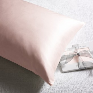 The White Company Silk Beauty Pillowcase For Hair & Skin, Petal, Super King