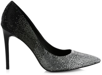 Alice + Olivia Calliey Ombre Embellished Pumps