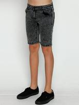 City Beach Jacks Boys Dusk Denim Walk Shorts