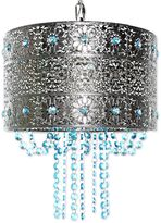 Poetic Wanderlust® by Tracy Porter® Mattei Jeweled Hanging Lamp With Cascading Crystals