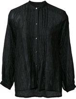 Nili Lotan band collar shirt - women - Cotton/Silk - M