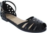 Restricted Black Canada Sandal