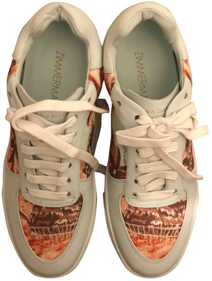 Zimmermann Multicolour Leather Trainers