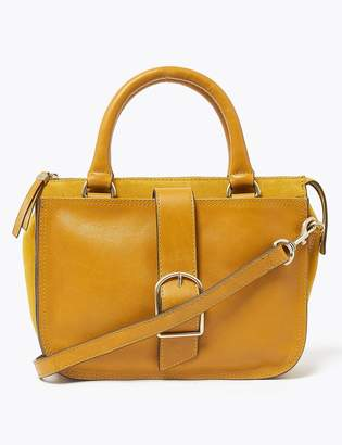 M&S CollectionMarks and Spencer Heritage Leather Saddle Bag