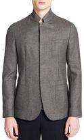 Emporio Armani Raw Edge Jacket