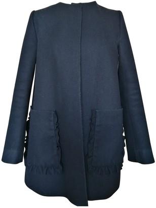 Cos Black Wool Coat for Women