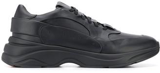 Santoni Low Top Lace-Up Sneakers