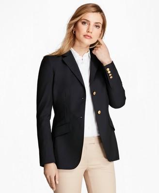 Brooks Brothers Loro Piana Two-Button Wool Blazer