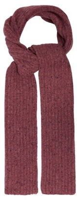 Gabriela Hearst Donegal Rib-knitted Cashmere Scarf - Light Pink