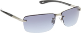 Rocawear Men's R1413 Semi-Rimless Sunglasses