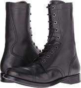 Alexander McQueen Tall Lace-Up Boot Men's Boots