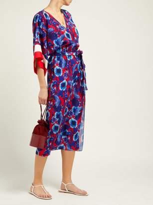 Borgo de Nor Raquel Floral print Tie waist Dress Womens