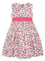 Oscar de la Renta Toddler's, Little Girl's & Girl's Spring Pansies Party Dress