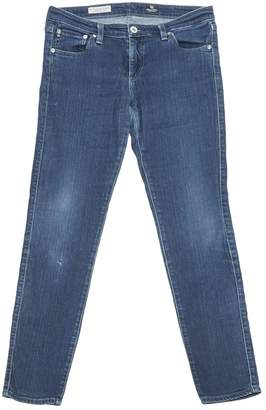 AG Adriano Goldschmied Blue Cotton - elasthane Jeans