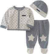 Calvin Klein Baby Boys' Footed Pant Set