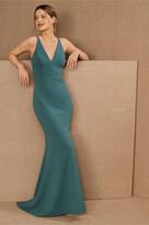 Thumbnail for your product : BHLDN Jones V-Neck Crepe Dress