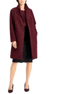 Alfani Textured Boucle Coat, Created for Macy's