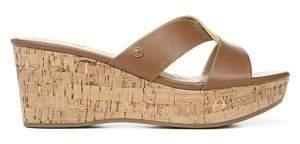 Sam Edelman Riviera Crisscross Wedge Sandals