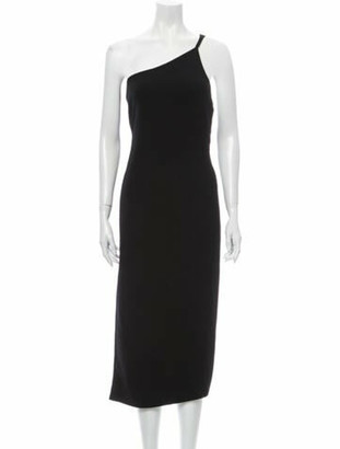 Oscar de la Renta 2018 Midi Length Dress Wool