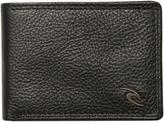 Rip Curl Clip Wave Rfid Slim Leather Wallet Black