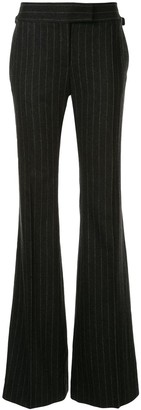 Tom Ford Flared Pinstripe Trousers