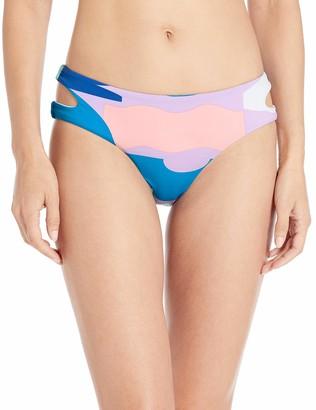 Bikini Lab Women's Side Cutout Hipster Bikini Bottom