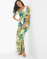 Chico's Tropical Cold-Shoulder Maxi Dress