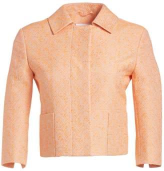 Akris Punto Cropped Tweed Jacket