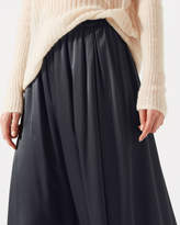 Jigsaw Heavy Satin Fluid Skirt