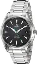 Omega Men's 23110422101004 Seamaster150 Analog Display Swiss Automatic Silver Watch
