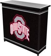 NCAA Ohio State Buckeyes 2-Shelf Portable Bar with Case