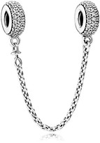 Pandora Safety Chain - Sterling Silver & Cubic Zirconia Pavé