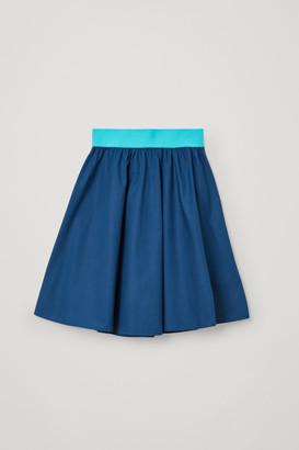 Cos A-Line Cotton Skirt