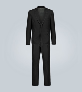 Thom Browne Exclusive to Mytheresa a wool and mohair-blend tuxedo suit