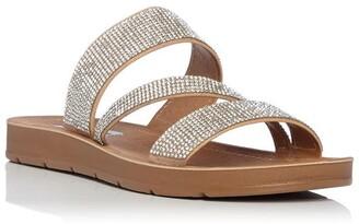 Steve Madden Praise Rhinestone Sandals