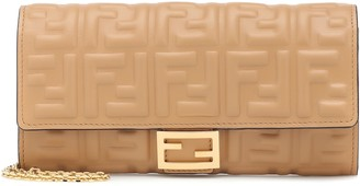 Fendi Baguette leather wallet