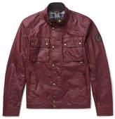 Belstaff Racemaster Waxed-cotton Jacket - Red