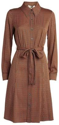 Diane von Furstenberg Dory Mini Shirt Dress
