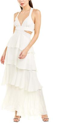 A.L.C. Lita Silk Maxi Dress