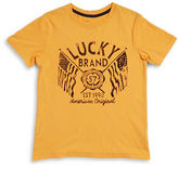 Lucky Brand Boys 8-20 American Flag Logo Tee