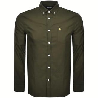 Lyle & Scott Oxford Long Sleeve Shirt Khaki