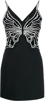 David Koma pearl embellished dress